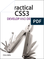Practical CSS3 Develop and Design