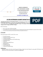 Cisco Academy January2014 Intake