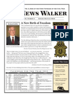 Lincoln-Cushing Camp No. 2 Spring 2014 Newsletter, SUVCW, The News Walker
