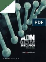 ADN de Los CEOS en El Ecuador 2013