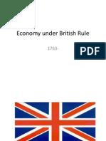 economy under british rule