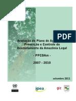 PPCDAm avaliação