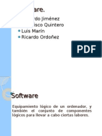 Software y clasificación.