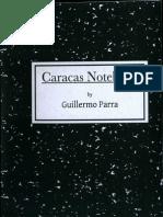 Guillermo Parra - Caracas Notebook