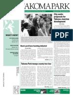 Takoma Park Newsletter - February 2014
