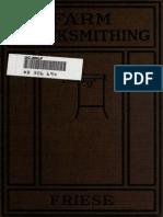 Farm Blacksmithing, A text book
