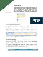 El Botón de Microsoft Office