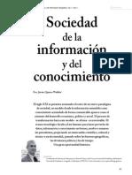 Sociedad de la información y Conocimiento