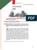1st Quarter 2014 Lesson 7 Jesus and the Social Outcasts Teachers' Edition