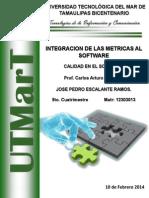 Integracion de Las Metricas Al Software