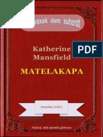 Matelakapa, ke Katherine Mansfield