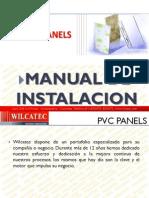 PVC Panels WILCATEC Manual de Instalacion