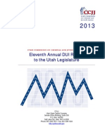 2013 DUI Annual Report