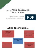Memorias-Ley Marco de Aduanas - 19 de Abril
