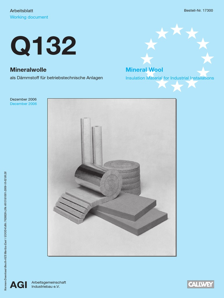 AGI Q 132 | Thermal Insulation | Electrical Resistivity And Conductivity