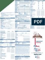 IMC-PSBank Home Loan Application Form