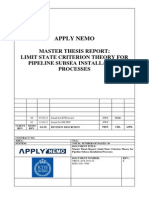 Limit State Criteria Theory for Pipeline Subsea Installation Processes