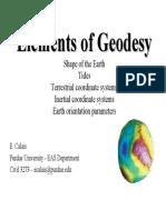 Elements of Geodesy01