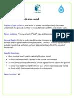 Water Filtration Model