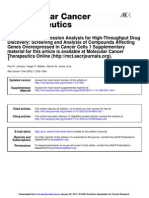 Multiplex Gene Expression Analysis for High-Throughput Drug Discovery- Screening and Analysis of Compounds Affecting Genes Overexpressed in Cancer Cells