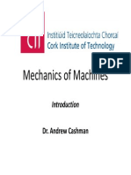 Mechanic of Ma - Lecture 1