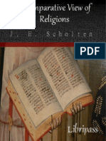 A Comparative View of Religions By J. H. Scholten - Christian Ebook