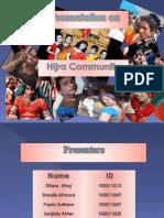 Presentation on Hijra Community Final