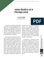 2009 (REP) Fundamentos Filosoficos de La Psicologia Actual