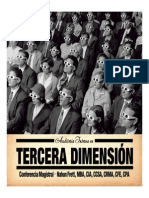 Auditoria en Tercera Dimension