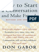 Don Gabor - How to Start a Conversation and Make Friends