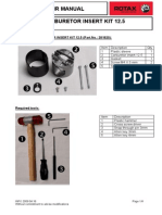 Carburetor Insert Kit 12