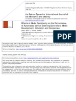 Effects of Model Complexity on the Performance of Automated Vehicle Steering Controllers Model Development Validation and Comparison