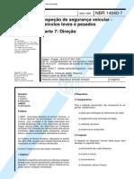 NBR 14040-07 - 1998 - Inspeção de Segurança Veicular - Direção.pdf