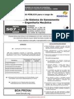 s07 p Analista de Sistema de Saneamento Engenharia Mec Nica
