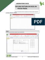 Como Hacer Una Factura en Excel en Pocos Pasos