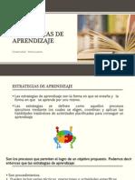 Estrategias de Aprendizaje- Procesos Educativos en Salud