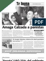 Tribuna de Querétaro 511 Amaga Calzada a panistas/ Despiden a Garrido entre abucheos