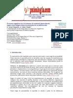 Procesos Cognitivos en El Trastorno de Ansiedad Generalizada...