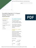 Foundation Example 9.7