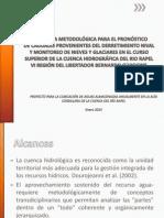 PROPUESTA METODOLÓGICA PARA EL PRONÓSTICO