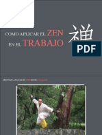 """Presentación """"Como aplicar el zen en el trabajo"""""""