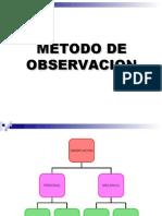 metodo de observacion