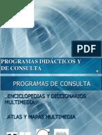 Programas de Consulta y Didacticos
