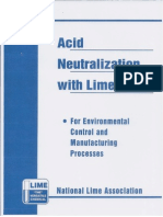 Acid Neutralization With Lime