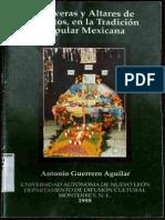 Guerrero Aguilar Calaveras y Altares de Muertos, En Tradic Pop Mexicana