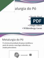 Metalurgia do pó.ppt