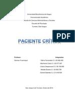 Paciente en Estado Critico