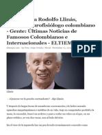 Entrevista a Rodolfo Llinás - 18 Noviembre 2013