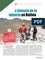 Breve Historia de La Mineria en Bolivia Mineria