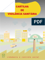 Cartilha Vigilância Sanitária - ANVISA